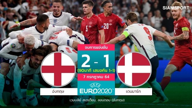อังกฤษได้ชิงสมใจ!